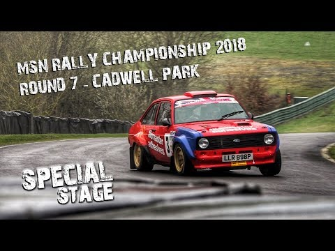 MSN Rally Championship 2017/18 - Round 7 Cadwell Park