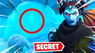 THE SECRET SKIN OF SEASON 7 IS FINE HERE... FORTNITE