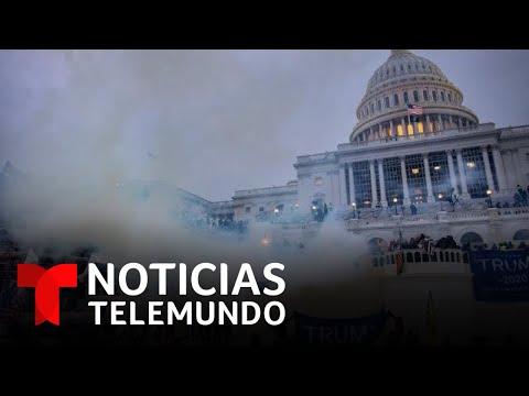 En video: Cronología del asalto al Capitolio   Noticias Telemundo