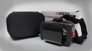 Homido Virtual Reality Headset Unboxing And Review