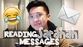 Reading SARAHAH Messages