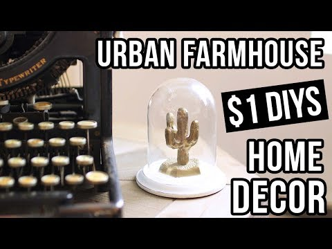 $1 DIY HOME DECOR! DIY Dollar Store Home Decor!