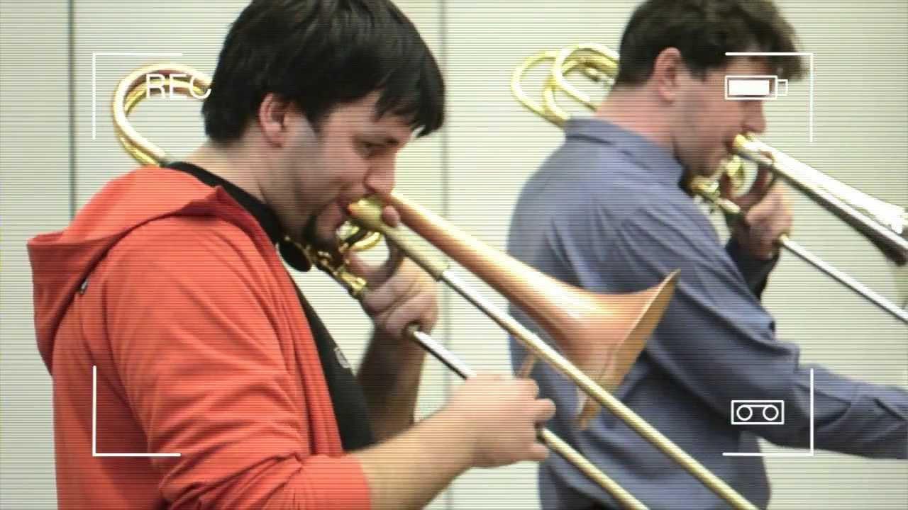 Repeat LÄTZSCH: Summertime for tenor & bass trombone by