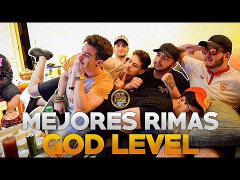 REACCIONAMOS A Las MEJORES RIMAS De La GOD LEVEL 2019