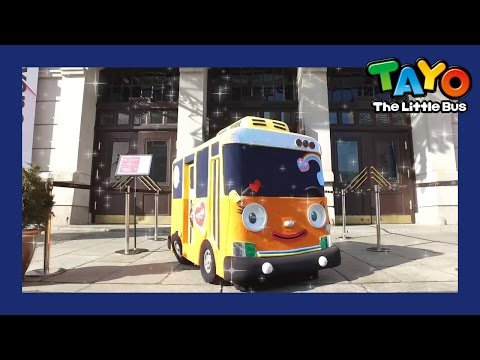 Seoul Tour with Tayo l Tayo in Real Life #12 l Tayo the Little Bus