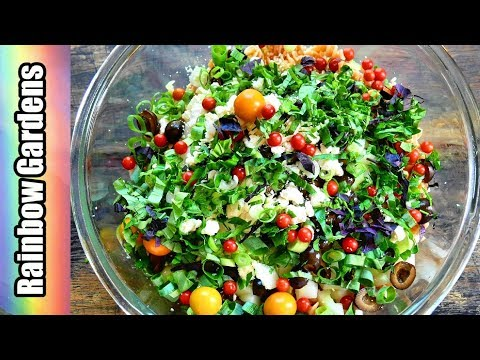 Lentil Pasta Salad Recipe - Fresh from the Garden & Walmart!