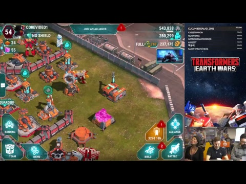 LIVE: UNKNOWN POWER - Power Cores hit Earth Wars