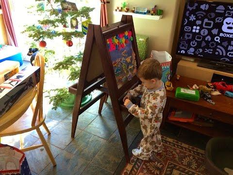 BUILD: Kids Folding Art Easel