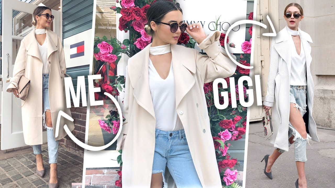 I TURNED INTO GIGI HADID FOR A WEEK...
