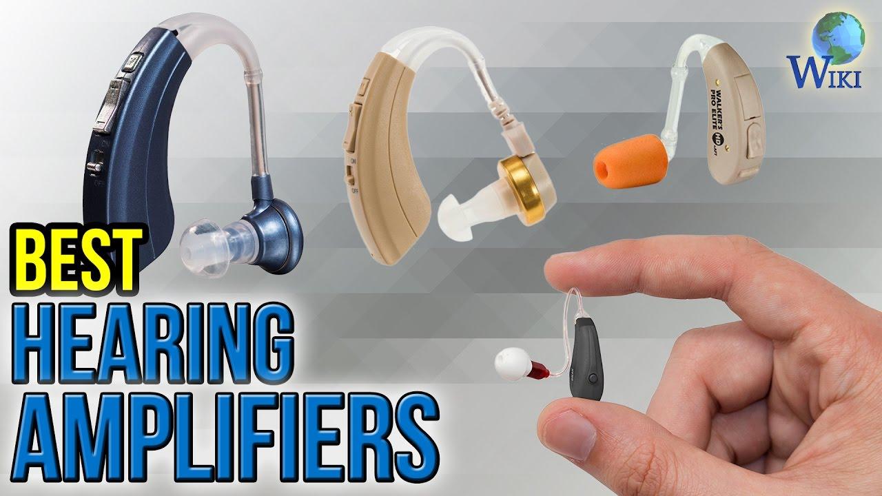 8 Best Hearing Amplifiers 2017