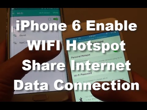 How To Use Mobile Hotspot On Apple iPhone 7 And iPhone 7 Plus