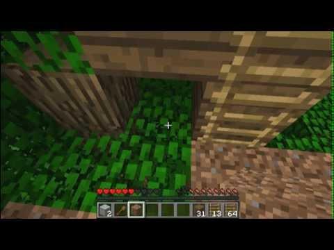 Minecraft Oynuyoruz; ep.1 - Bir Daha Ağacın Üstüne Ev Yapanı Var Ya
