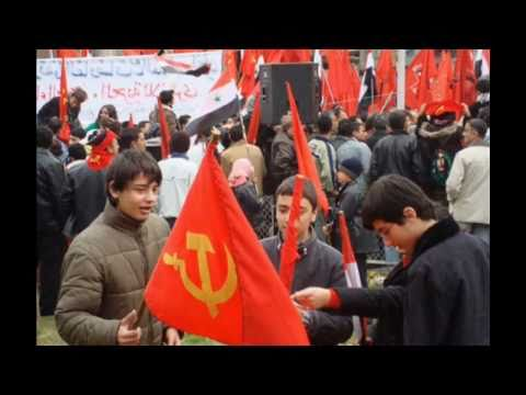 The internationale Arabic, Syrian communist party.