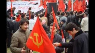 The internationale Arabic, Syrian communist party.
