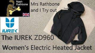 The IUREK ZD960 Women's Electric Heated Jacket