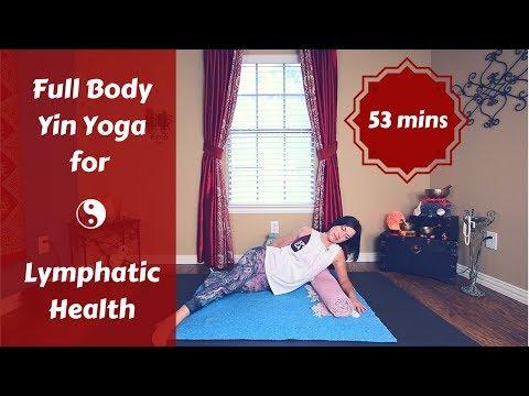 Full Body Yin Yoga for Detox & Lymphatic System Health   Immune Boost {55 mins}