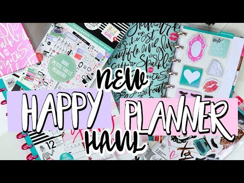 *NEW* Huge Happy Planner Haul from Me & My Big Ideas | Belinda Selene