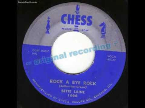 CHESS~1666 - Betty Laine - Rock-A-Bye Rock