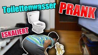 Klowasser & Katzenfutter Prank an Bruder 🤢🤢🤢