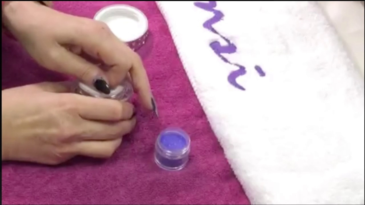 Ombre Nails With Nsi Polish Pro Demo Easy Nail Designs
