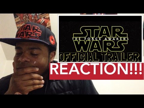 STAR WARS: THE FORCE AWAKENS OFFICIAL TRAILER REACTION & REVIEW!!!