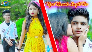 Kya Khoob Lagti Ho 💕 Cute Love Story 💋 New bollywood song🌻 Rupsa Rick & Ujjal Dustu 🌴 Ujjal Dance