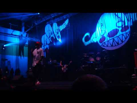 Limp Bizkit - Nookie with kiwi on stage, Auckland Storm the Gates Festival 2018