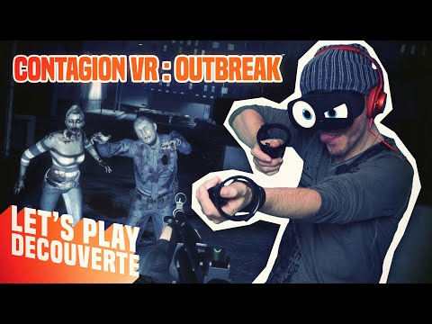BIENVENUE À RACCOON CITY ! Contagion VR : Outbreak - Let's Play Découverte