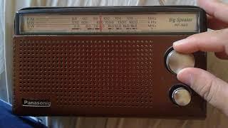 Unboxing Radio Panasonic RF-562D