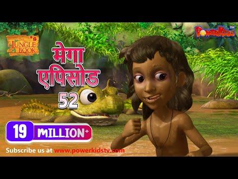 Jungle Book Cartoon For Kids Kahaniya  Action Compilation