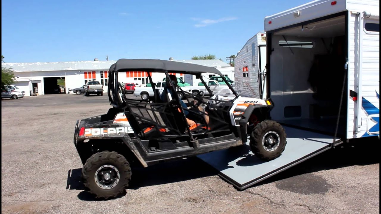 Rzr 4 Fits In A 19 Toy Hauler