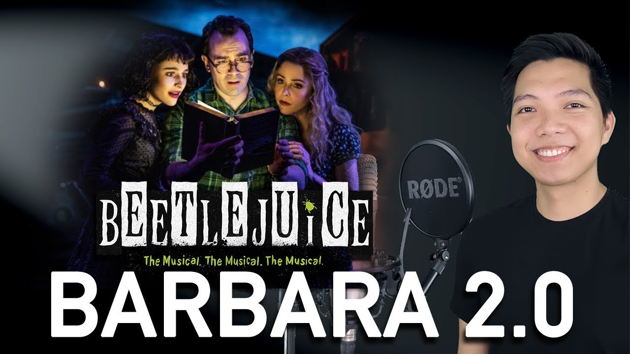 Barbara 2 0 Adam Part Only Karaoke Beetlejuice Youtube