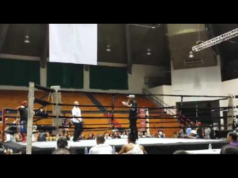 Tarvis Melsior kickboxing fight