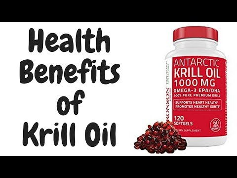 6 Health Benefits of Krill Oil [ Science Based ]
