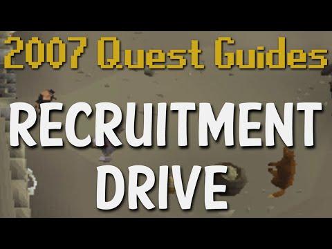 Runescape 2007 Quest Guides: Recruitment Drive
