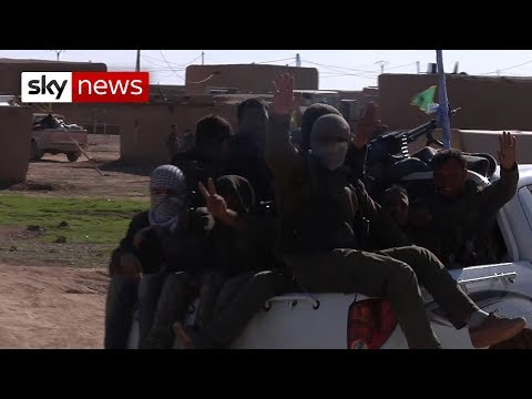 Fighting Islamic State: The Road To Raqqa