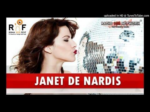 Janet De Nardis intervistata da Radio 108 Network al termine del Roma Web Fest 2016
