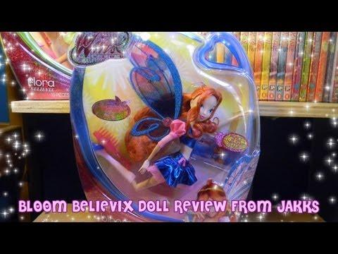 Winx Club Bloom Believix Doll Review! Jakks Pacific!