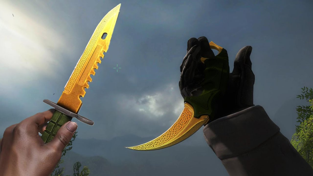 all new lore knives gameplay cs go gamma case update youtube