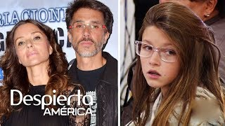 Sergio Mayer e Issabela Camil aclaran que no le hablan a su hija con malas palabras