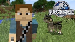 Dinosaurs In Minecraft - The First Dinosaur! | Jurassic World - Ep1