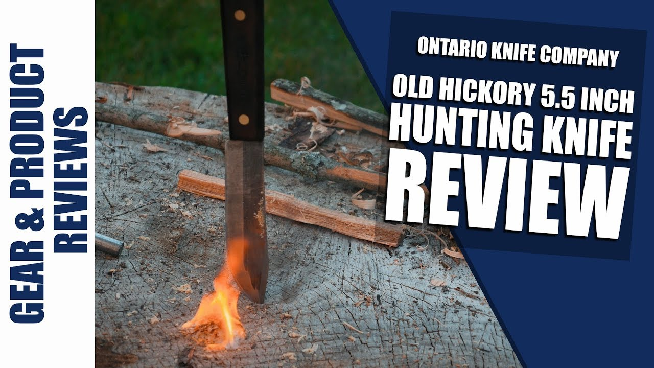 Old Hickory 5 5 Inch Hunting Knife Full Field Review With Images