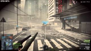 Battlefield 4: Tank gameplay (skyscraper also getting destroyed) [PC]