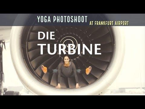 Photoshoot | At The Frankfurt Airport | Frankfurter Flughafen | Yoga Model | Fitness Model