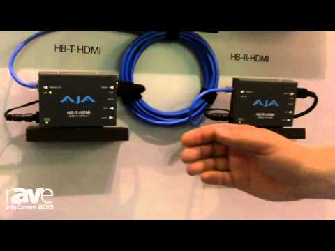 InfoComm 2015: AJA Video Systems Proudly Announces the New HB-T-HDMI and HD-R-HDMI