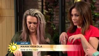 Så får du vårens trendnaglar - Nyhetsmorgon (TV4)