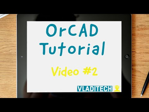 OrCAD Capture CIS lesson #2 - Add new RESISTOR part to a LIBRARY