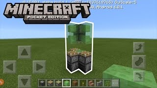 HOW TO MAKE A ROCKET SHIP IN MINECRAFT PE (WORKING)