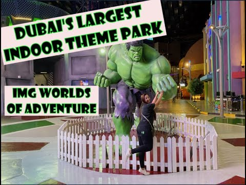 DUBAI'S LARGEST INDOOR THEME PARK | IMG WORLDS OF ADVENTURE | OFWLIFE.Angel
