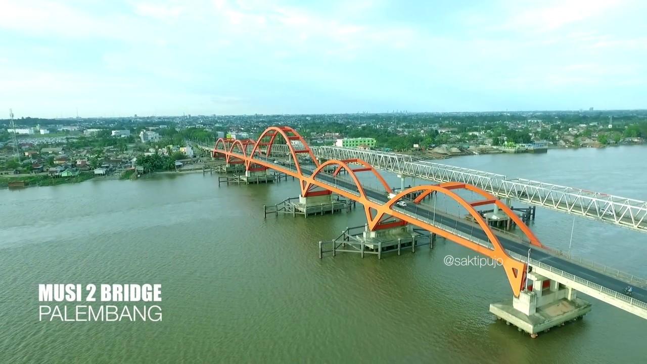 Tempat Wisata di Palembang jembatan musi